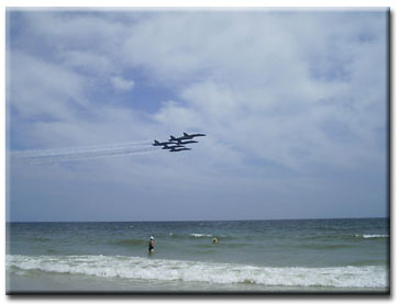 Blue Angels, Pensacola Beach 2003